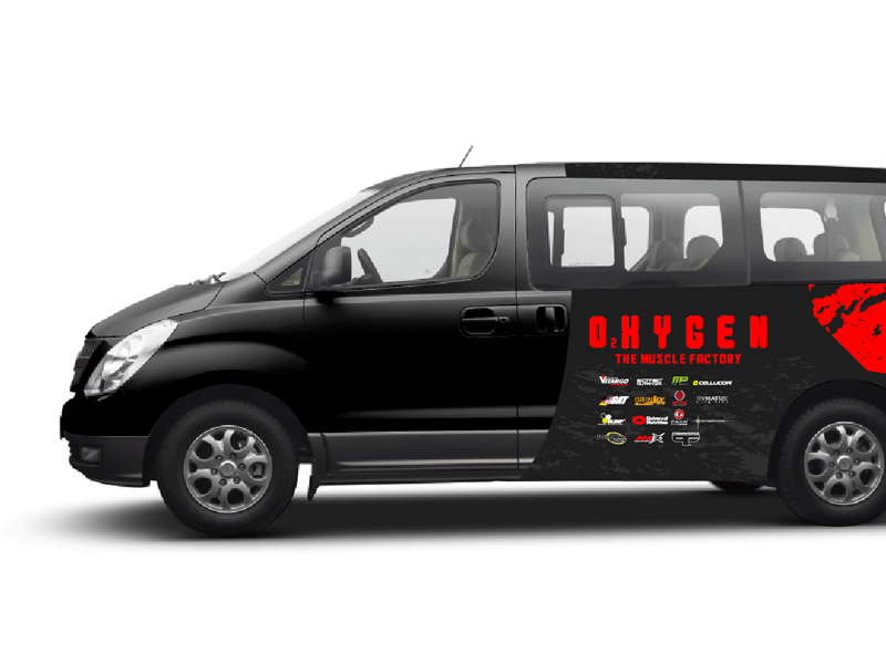 Oxygen Vehicle Branding