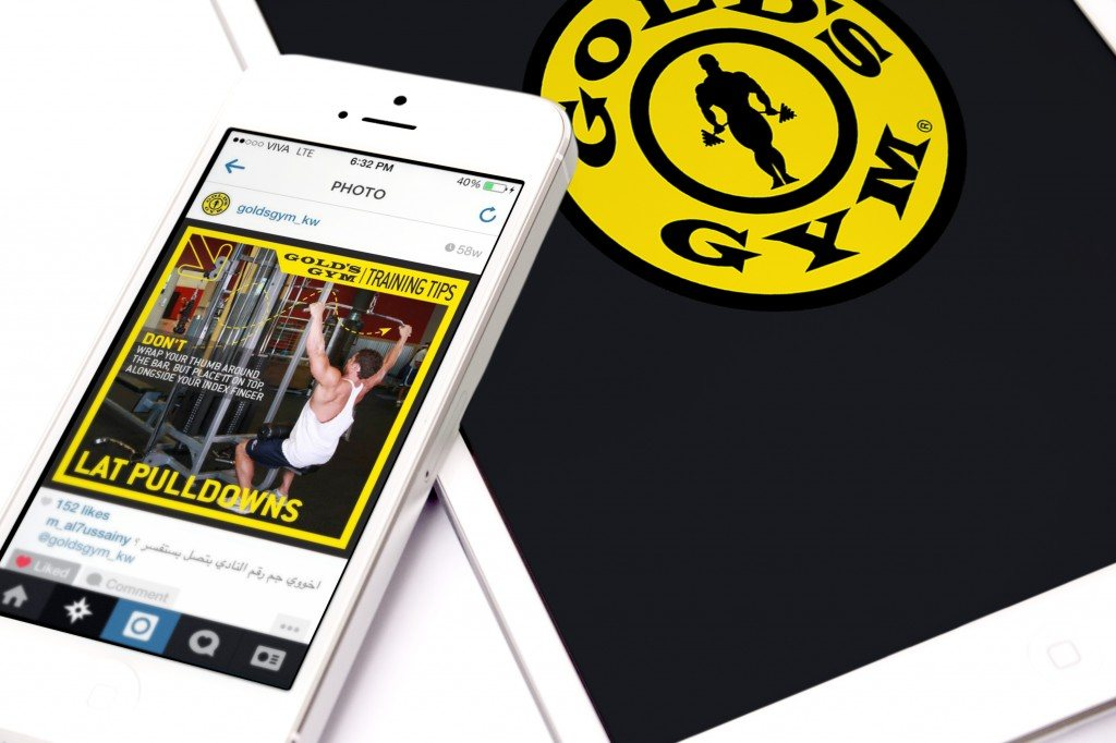 Gold's Gym Instagram Campaign